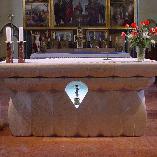 Belvárosi templom Szent Gellért ereklye