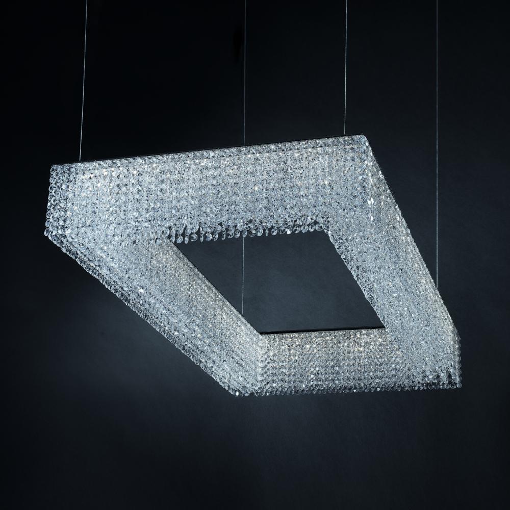 kristály csillár